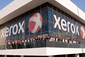 کاهش درآمد کمپانی زیراکس
